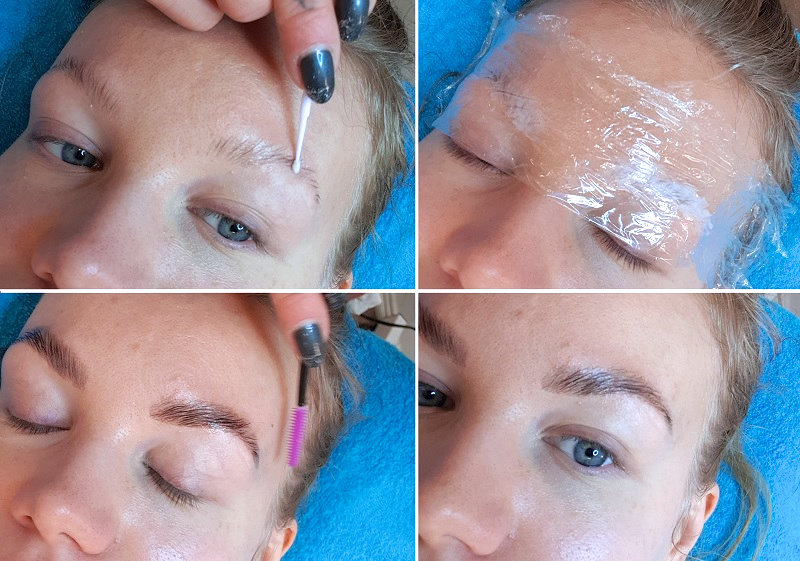 brow lamination treatment review