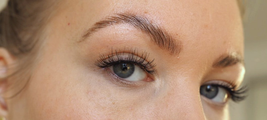 day after brow lamination