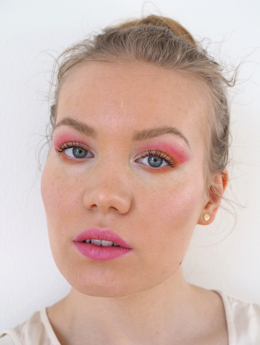 pink orange conspiracy palette makeup