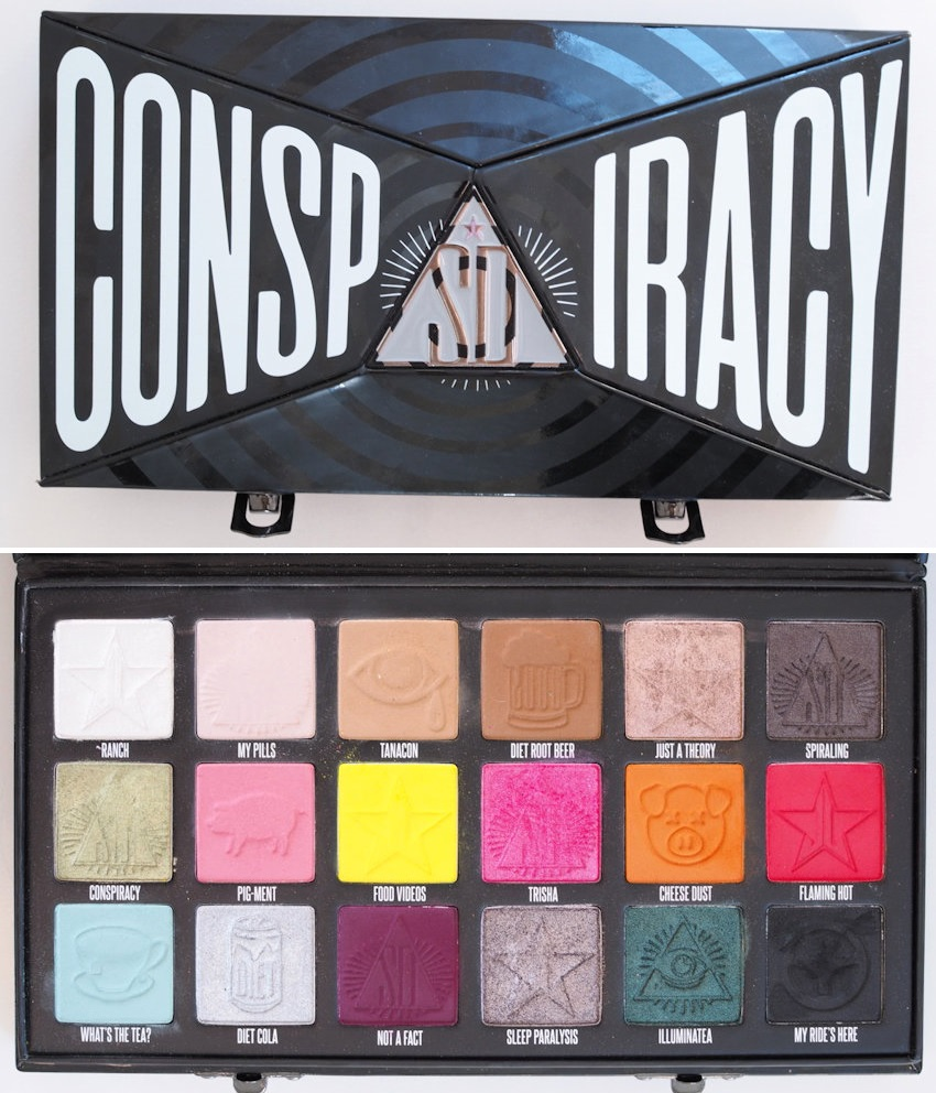 conspiracy palette review and looks