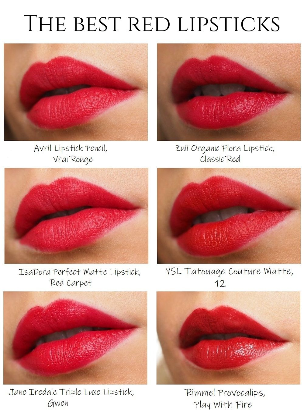 the best red lipsticks
