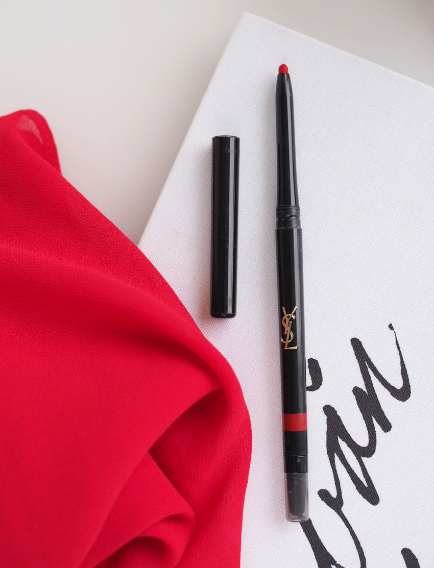 perfect red lip liner ysl lip styler rouge