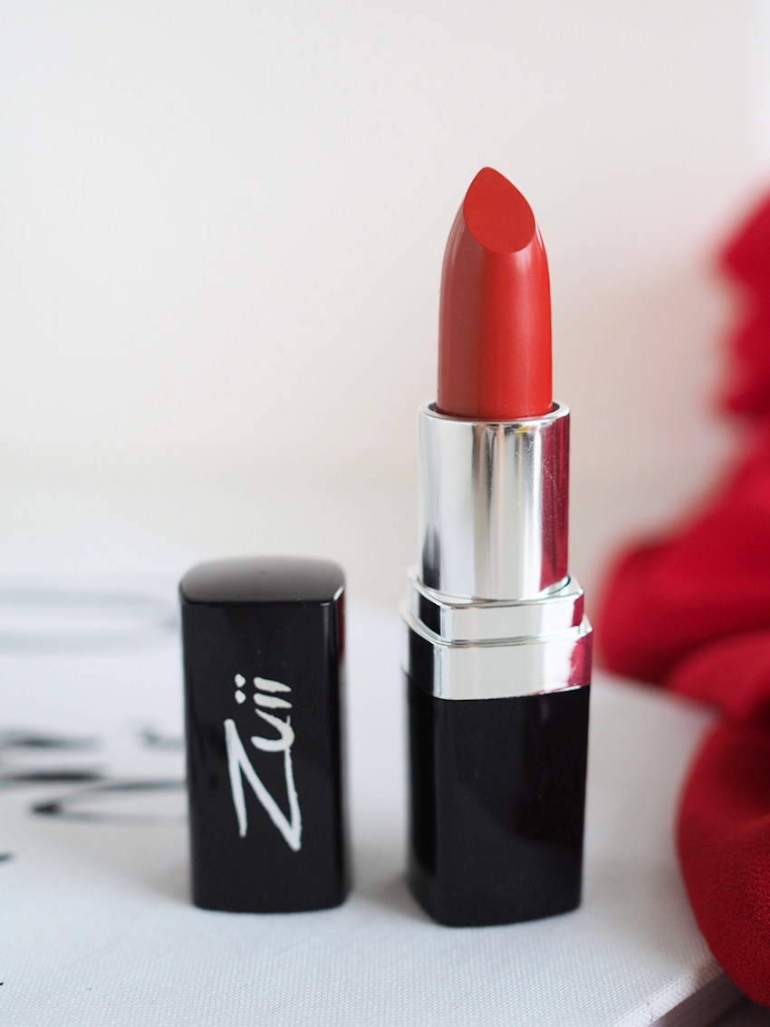 Zuii Organic Siren Lipstick Best Orange