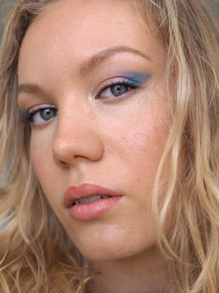 blue wing makeup