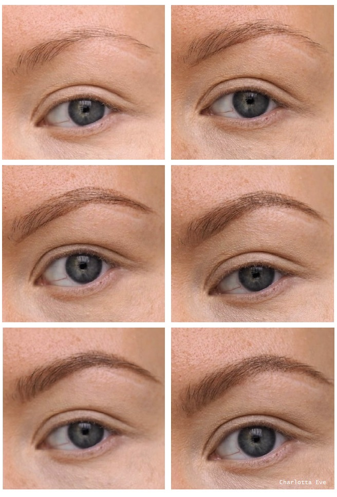 brow makeup tutorial charlotta eve