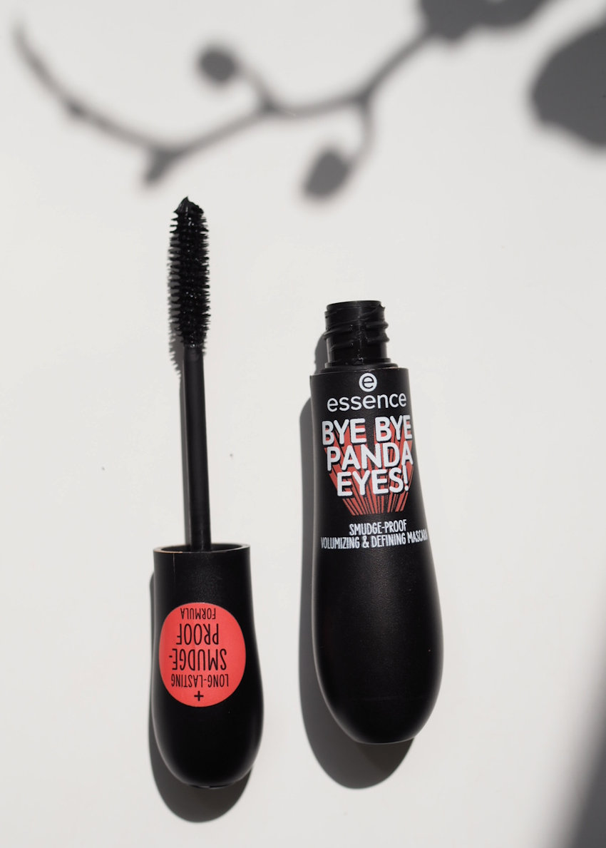 essence bye bye panda eyes mascara review - cruelty free