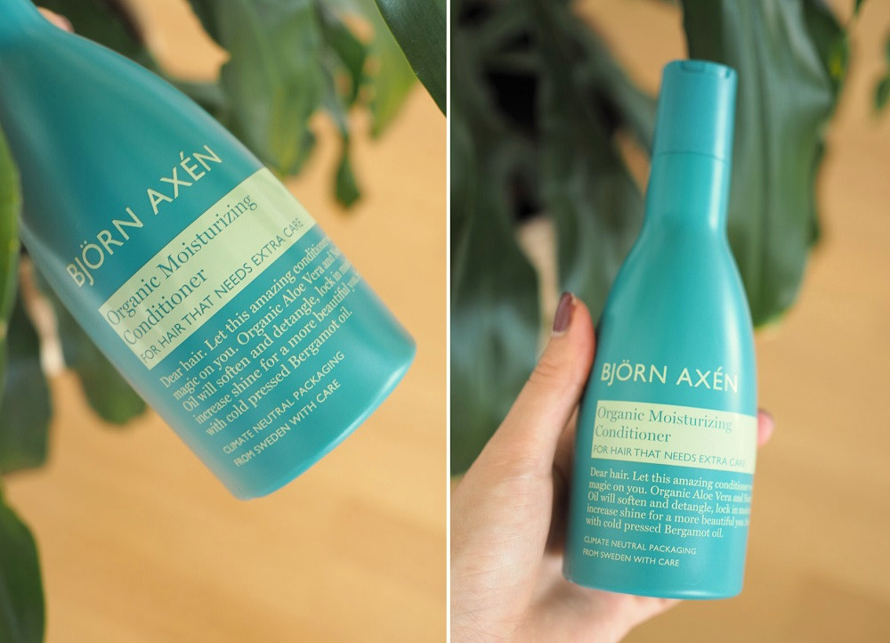 Björn Axen Organic Conditioner Review Wavy Curly Hair
