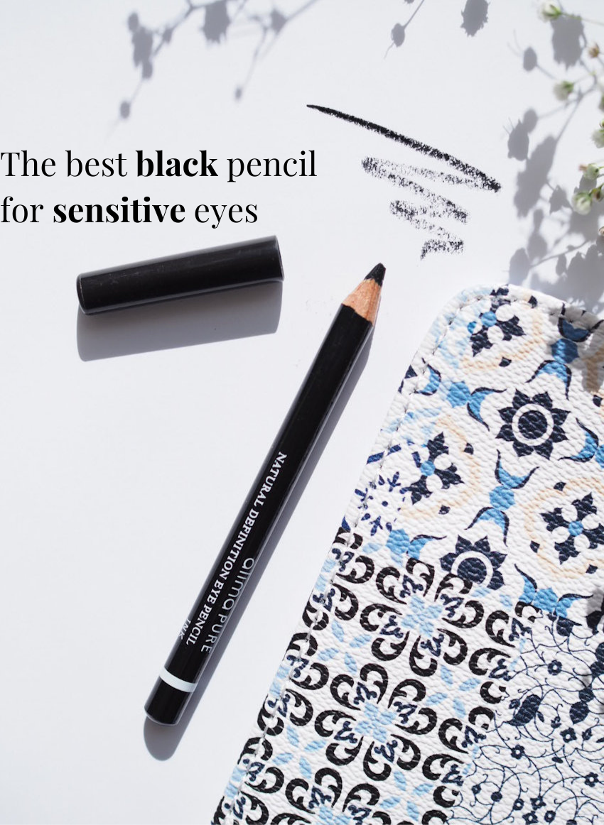the best black pencil for sensitive eyes