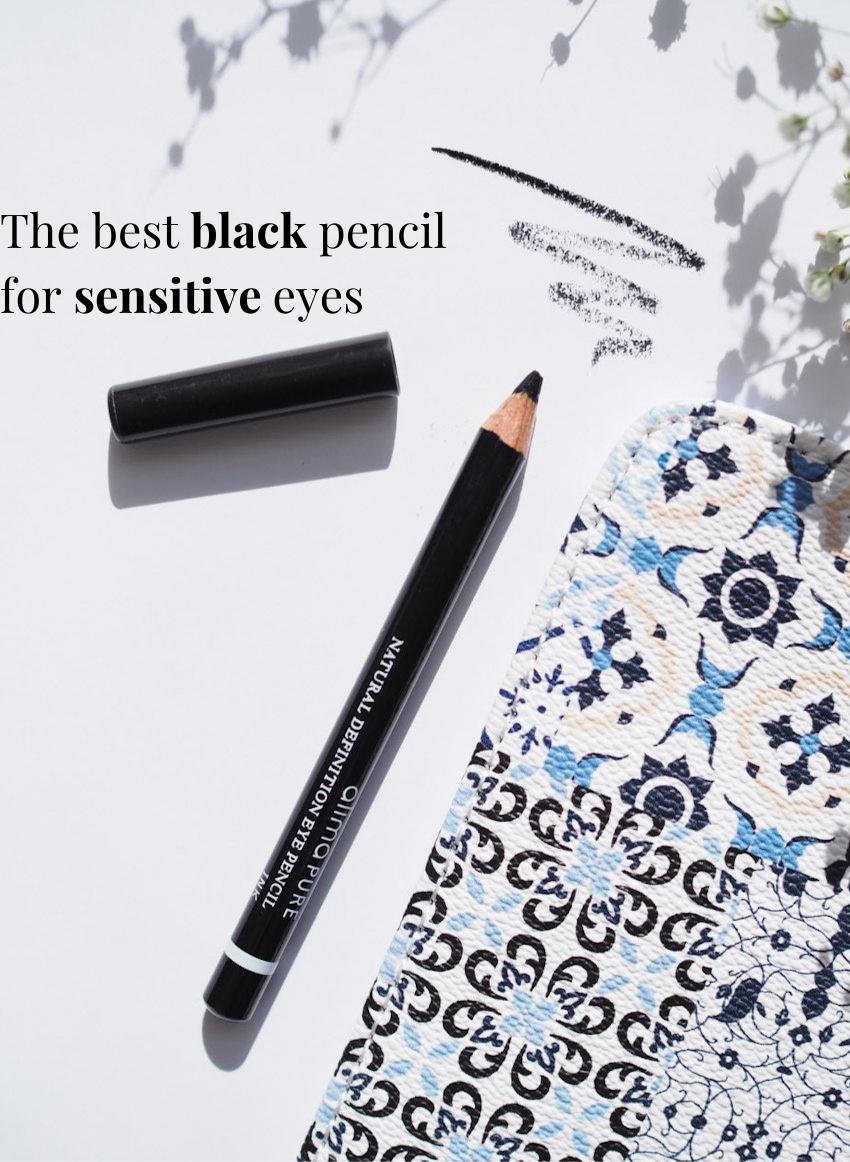 the best black pencil for sensitive eyes