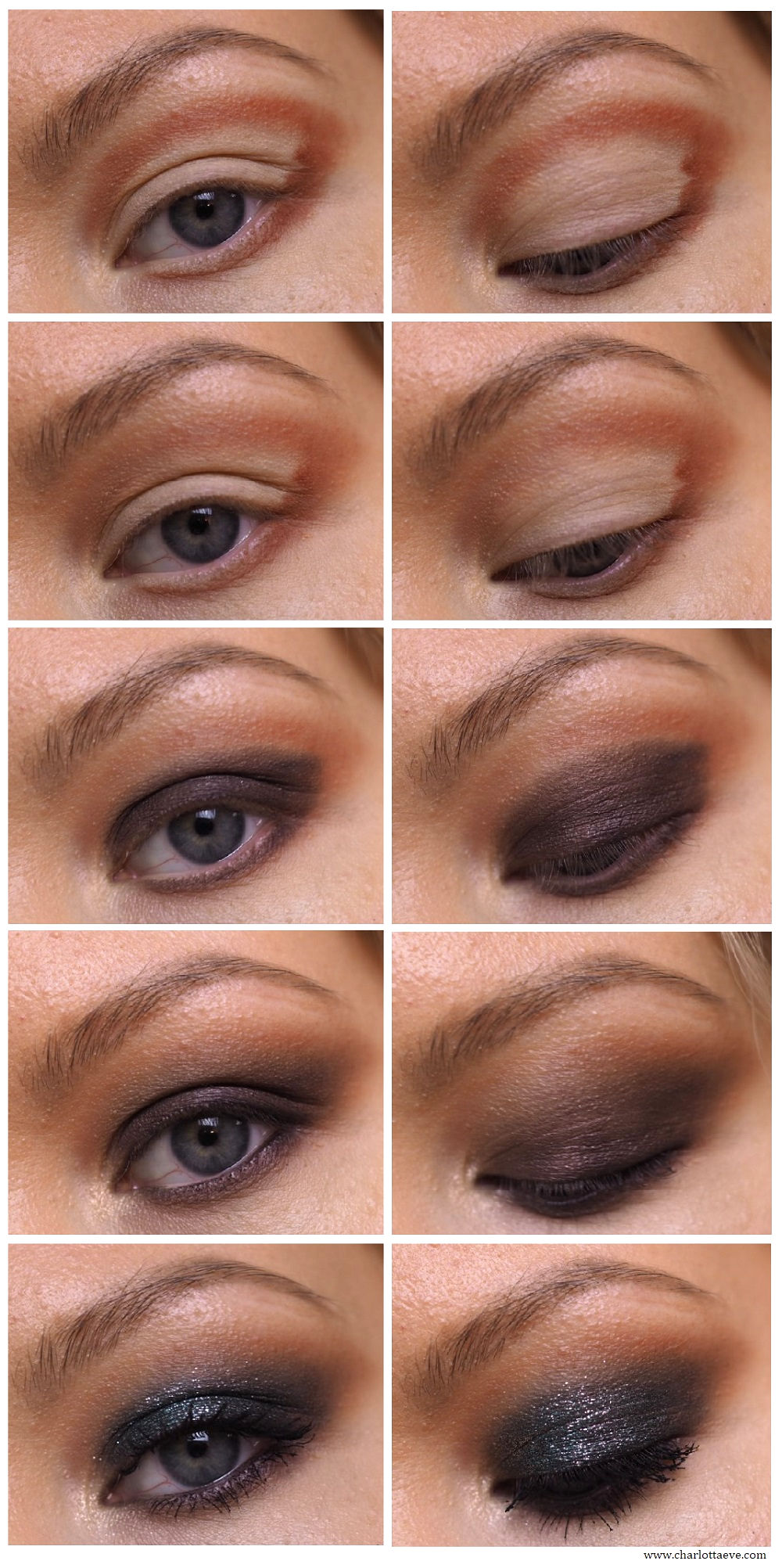 smokey eye tutorial step by step