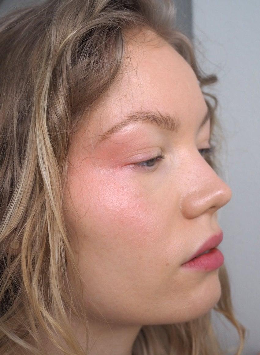 fresh blushed makeup