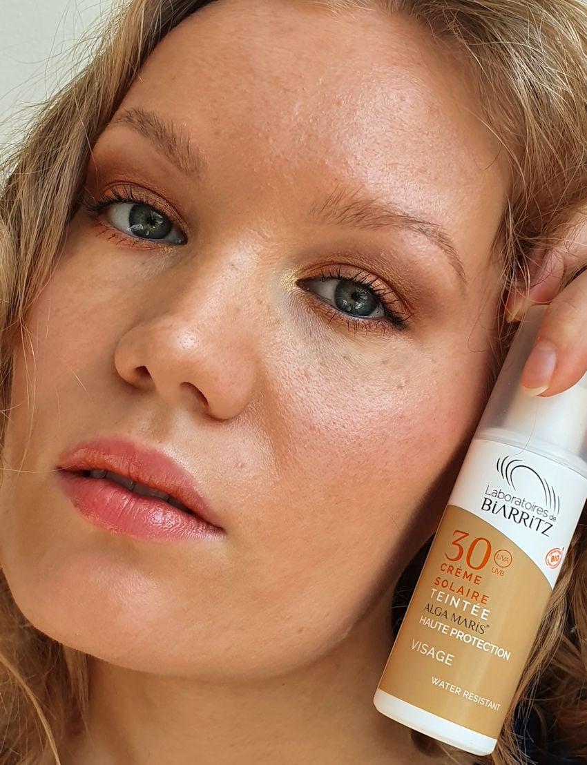 alga maris tinted face sunscreen spf 30 golden