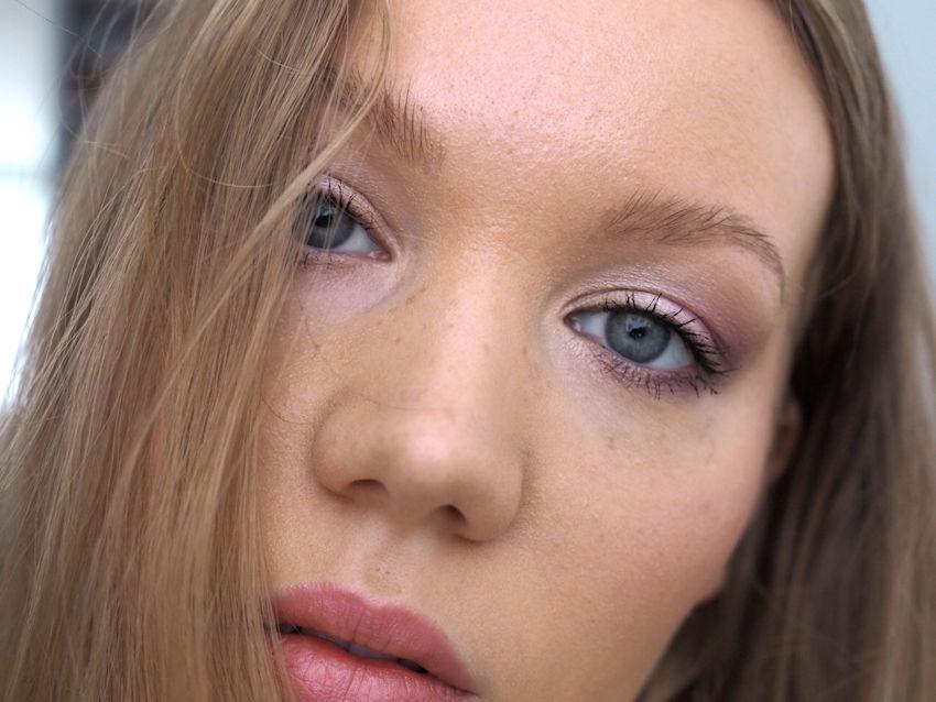 natural purple makeup tutorial
