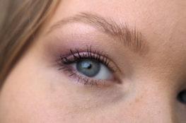 soft purple eye makeup tutorial