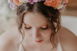 natural boho bridal makeup