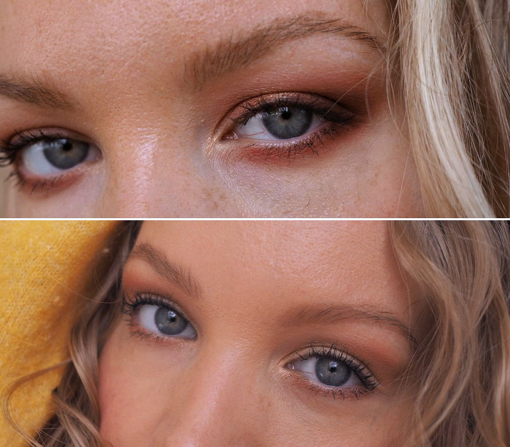 deep set downturned eyes different makeup styles
