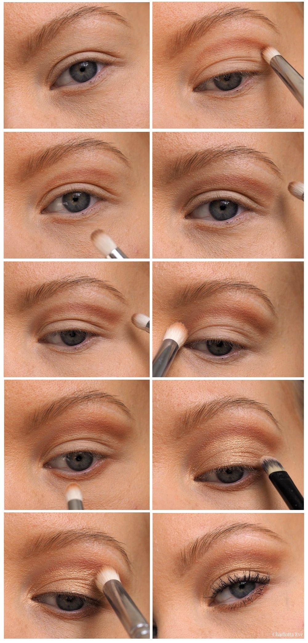 Floating contour deep set eyes tutorial