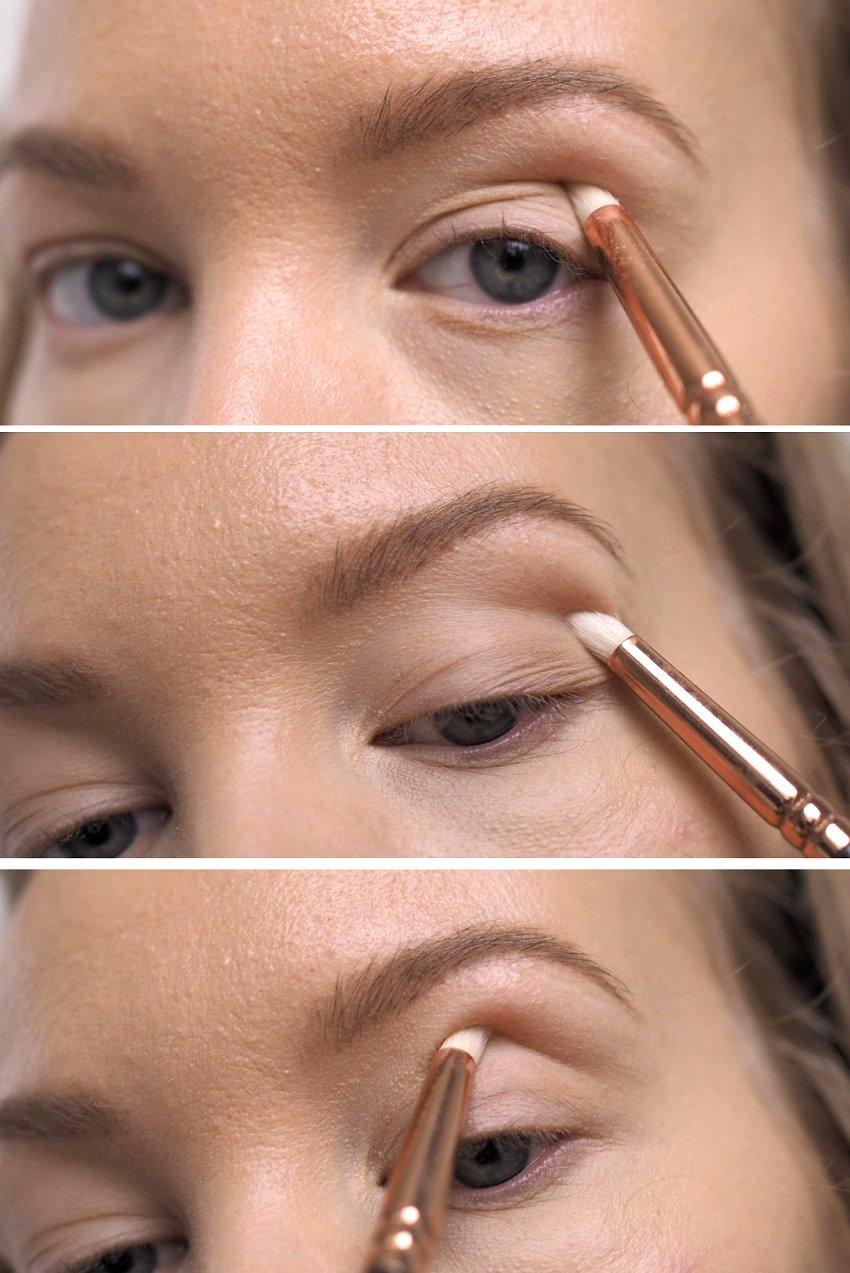 how to contour deep set eyes